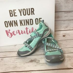 Ryka Kailee MINT Adjustable Mesh Mary Jane Sneaker